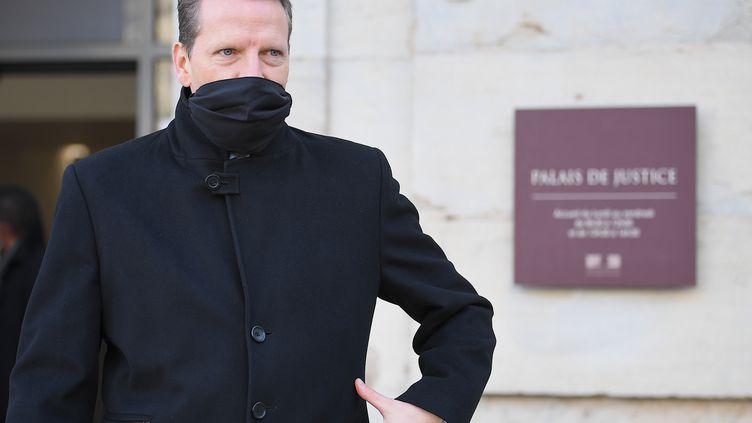 Le procureur de la République de Vesoul, Emmanuel Dupic, le 21 novembre 2020. (PATRICK HERTZOG / AFP)