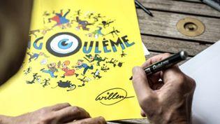 Le festival de la BD d'Angoulême par Willem, lauréat du Grand prix en 2013.  (© FIBD 9eArt+)