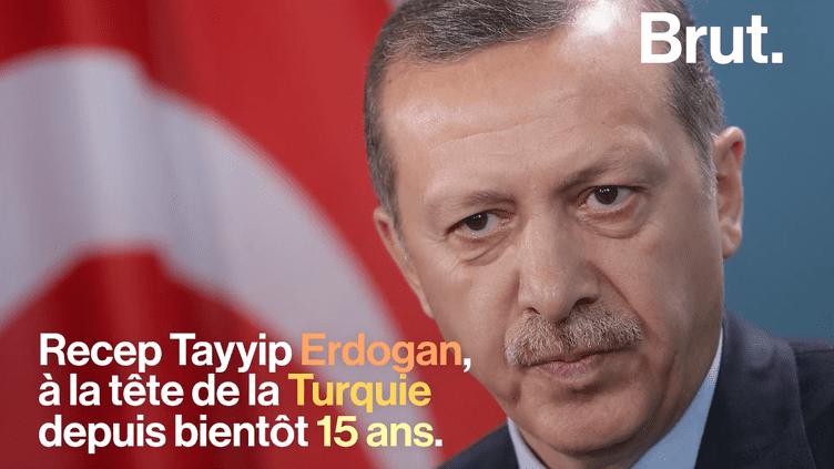 Quatre moments clé qui ont fait Recep Tayyip Erdogan (BRUT)