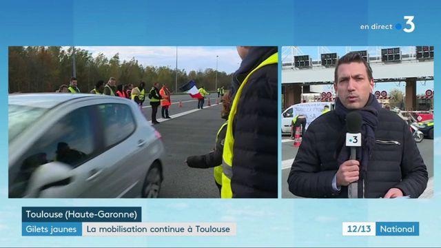 """""""Gilets jaunes"""" : la mobilisation se poursuit à Toulouse"""