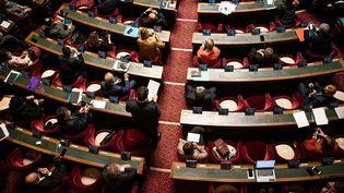 Une séance de questions au gouvernement, le 20 janvier 2021 au Sénat. (XOSE BOUZAS / HANS LUCAS / AFP)