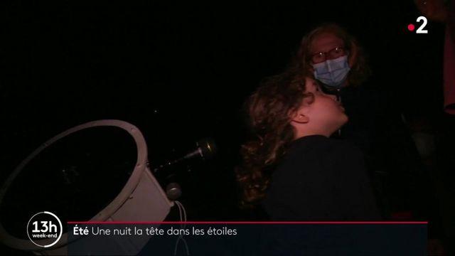 Gironde: une nuit dans les étoiles
