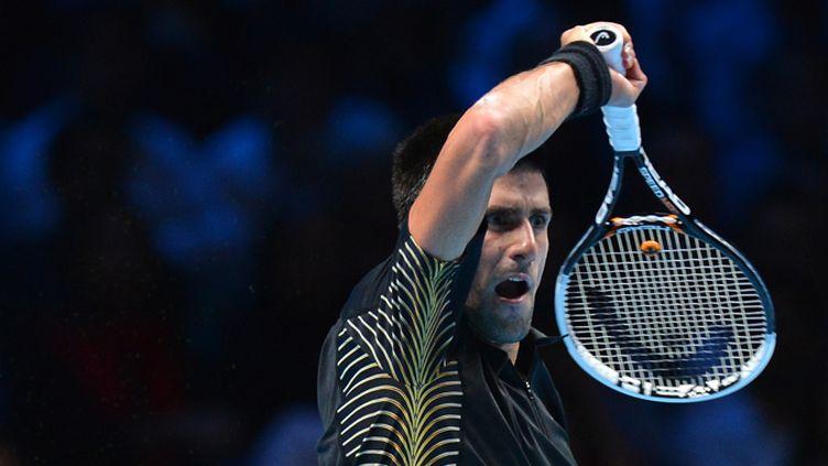 Novak Djokovic est bien le maître des maîtres (BEN STANSALL / AFP)