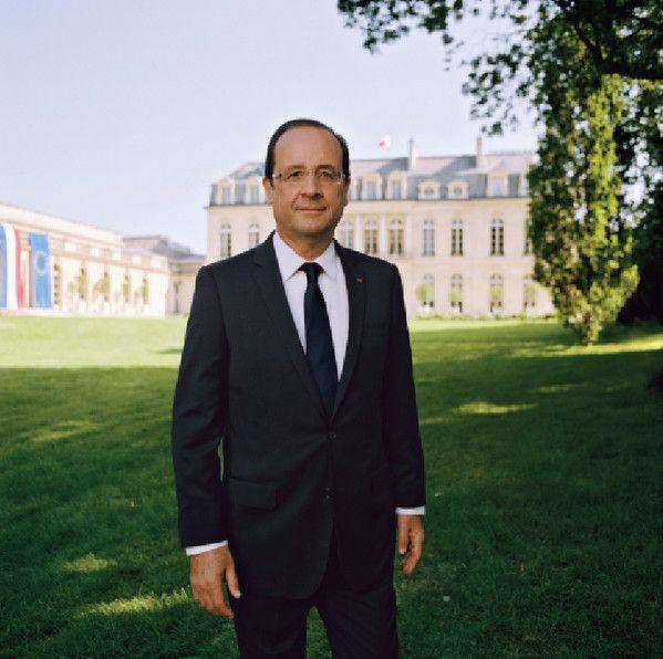 François Hollande  (Raymond Depardon)