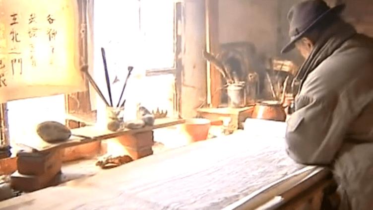 Claude Margat dans son atelier  (France3/culturebox)
