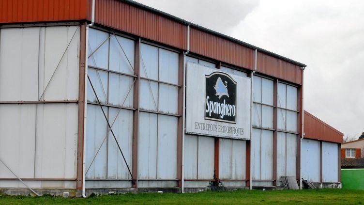 Les entrepôts frigorifiques de l'entrepriseSpanghero à Castelnaudary (Aude), le 15 février 2013. (MAXPPP)