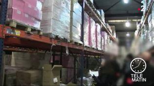 Des exportations vérifiées par les douanes. (France 2)