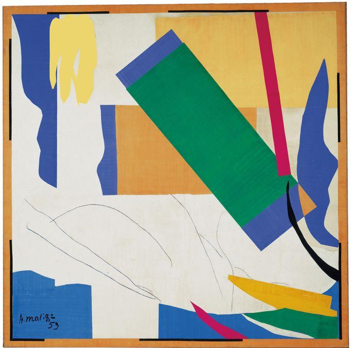 "Henri Matisse, ""Souvenir d'Océanie"", 1952, Museum of Modern Art, New York  (2013. The Museum of Modern Art, New York / Scala Florence, Artwork : © Succession Henri Matisse/DACS 2014)"
