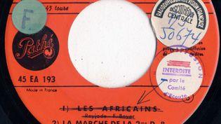"""Lorsque la France a décolonisé, """"Le Chant des Africains"""" a été interdit de radiodiffusion... mais a continué à être chanté en Afrique. (RADIO FRANCE)"""