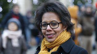 L'ancienne journaliste Audrey Pulvar, à Paris, le 12 décembre 2017. (GEOFFROY VAN DER HASSELT / AFP)