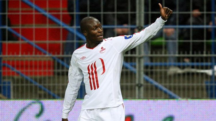 L'attaquant lillois Moussa Sow