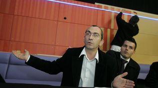JocelynBouyssy, directeur général des cinémasCGR, à Colmar, le 30 novembre 2011. (MAXPPP)