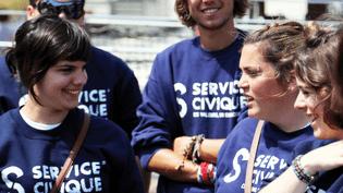 Des volontaires du service civique. (SERVICE-CIVIQUE.GOUV.FR)