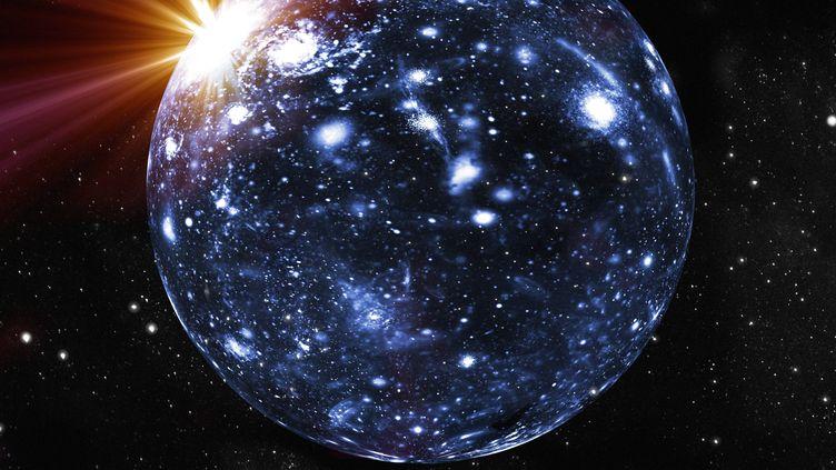 Les résultats d'une expériencemenée ces derniers mois dans l'espace seraient compatibles avec des positrons, une particule d'antimatière, pouvant provenir de la destruction de particules de matière noire. (MEHAU KULYK / MKU)