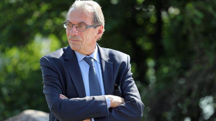 Roland Ries, maire de Strasbourg, le 15 juin 2017. (JEAN-MARC LOOS / MAXPPP)