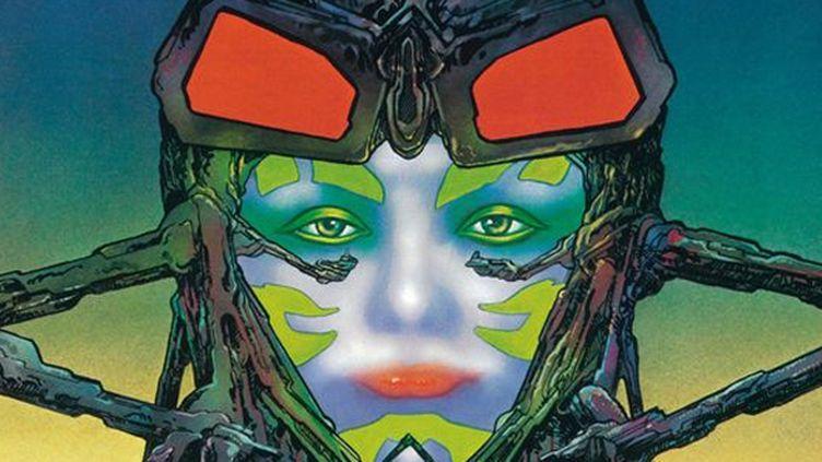 La pochette de la compilation de Cosmic Machine est signée Philippe Druillet.  (Philippe Druillet/Because Music)
