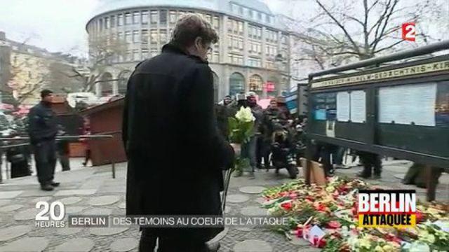 Berlin : des témoins au coeur de l'attaque