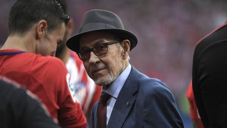 Manuel Briñas, le 14 février 2019, auWanda Metropolitano, à Madrid (Espagne). (GABRIEL BOUYS / AFP)