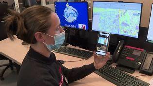 Premiers secours : une nouvelle application permet d'aider les pompiers. (FRANCE 3)