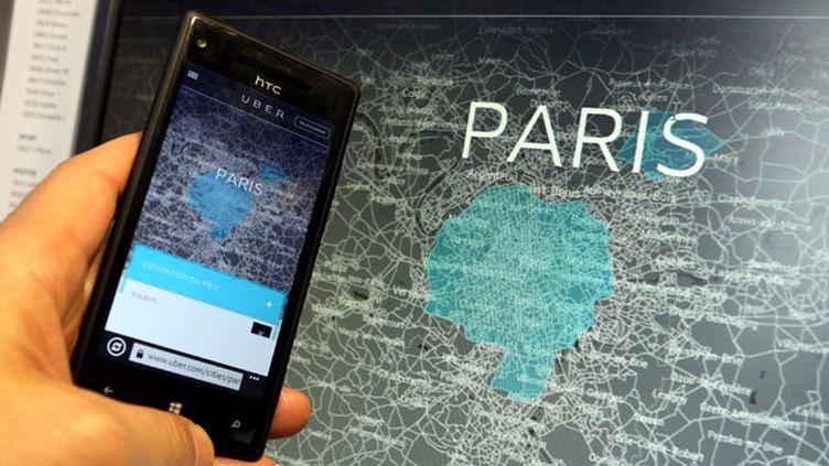 (UberPop, un concept attaqué sur plusieurs fronts juridiques © MAXPPP)