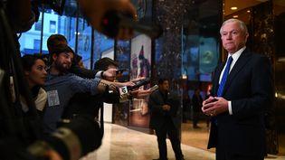Le senateur et futur ministre de la justice américain Jeff Sessions, en novembre 2016. (JEWEL SAMAD / AFP)