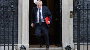 Le ministre britannique des Affaires étrangères, Boris Johnson, le 14 mars 2018 à Londres. (DANIEL LEAL-OLIVAS / AFP)