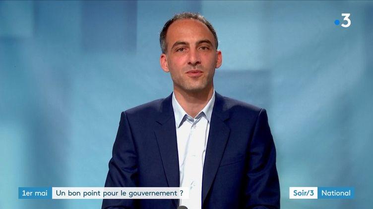 Raphaël Glucksmann, tête de liste Place publique-PS aux élections européennes (France 3)