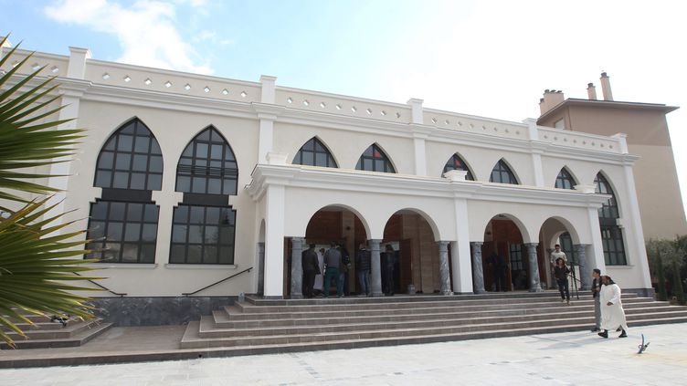 La mosquée El Fath de Fréjus (Var), le 22 janvier 2016. (MAXPPP)