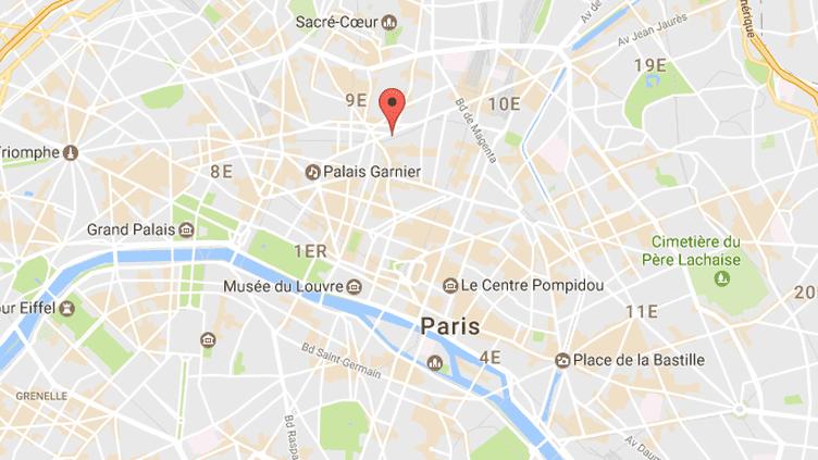 Rue Cadet dans le IXe arrondissement de Paris.  (GOOGLE MAPS)
