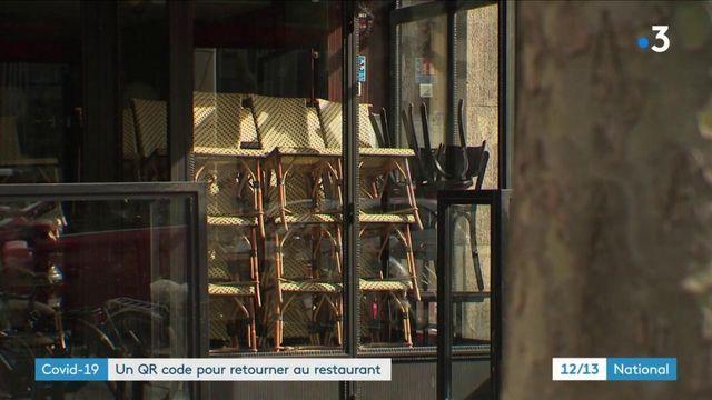 Covid-19 : un QR code pour permettre la réouverture des restaurants