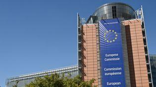 Le siège de la Commission européenne à Bruxelles en Belgique. (MAXPPP)