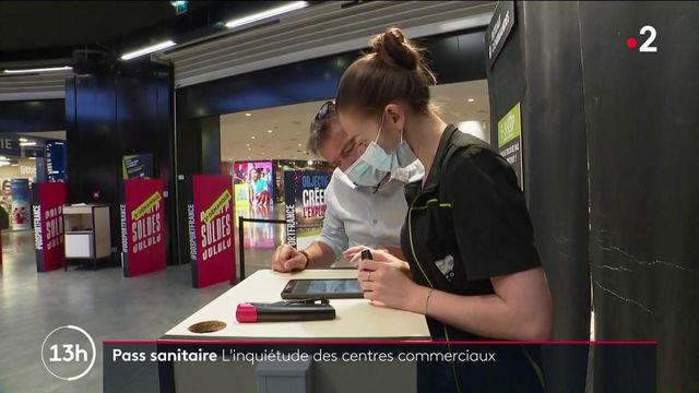 Pass sanitaire : des modalités encore floues pour les centres commerciaux