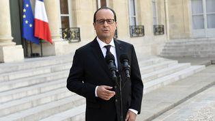 Francois Hollande à l'Elysée le 26 juin 2015. (LOIC VENANCE / AFP)