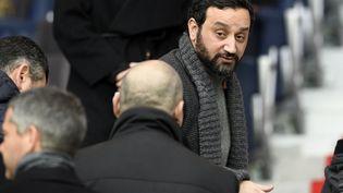 Cyril Hanouna, animateur TV, au Parc des Princes à Paris, le 23 janvier 2016. (FRANCK FIFE / AFP)