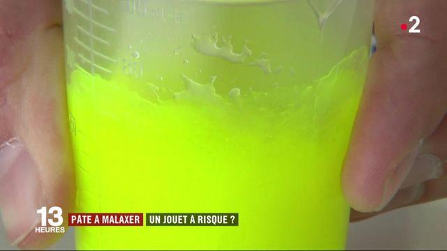 """Santé : fabriquer du """"slime"""" comporte-t-il des risques ?"""
