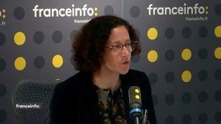Emmanuelle Wargon,secrétaire d'État auprès de la ministre de la Transition écologique et solidaire, invitée de franceinfo le lundi 25 novembre 2019. (FRANCEINFO / RADIO FRANCE)