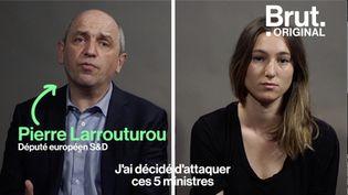 VIDEO. Dérèglement climatique : plainte contre 5 ministres pour inaction (BRUT)