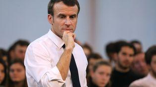 Le président Macron a été harcelé par un professeur de musique souffrant depsychose paranoïaque (photo d'illustration du 7 février, 2019). (LUDOVIC MARIN / AFP)