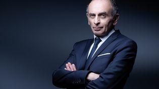 Le polémiste Eric Zemmour, à Paris, le 22 avril 2021. (JOEL SAGET / AFP)