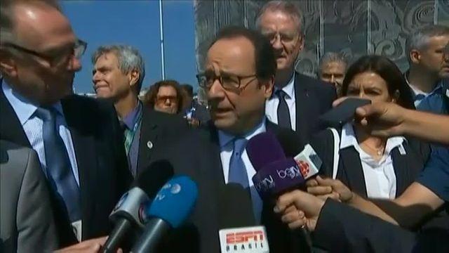 JO : en visite à Rio, Hollande vante les mérites de Paris-2024