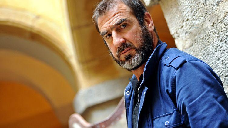L'ancien footballeur Éric Cantona, en voyage au pérou pour tourner un documentaire (illustration). (GUIOCHON STEPHANE / MAXPPP)