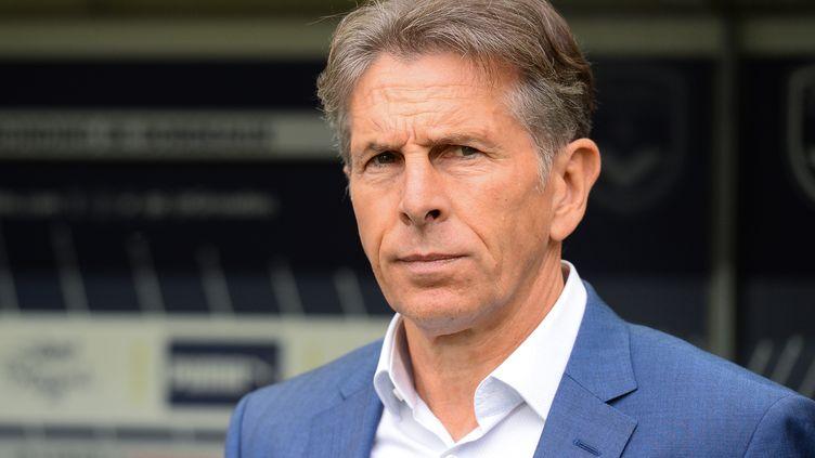Claude Puel lors du match aller Bordeaux - Saint-Etienne, le 20 octobre 2019. (NICOLAS TUCAT / AFP)
