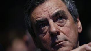 Le candidat des Républicains à la présidentielle, François Fillon, le 14 janvier 2017, à Paris. (THOMAS SAMSON / AFP)