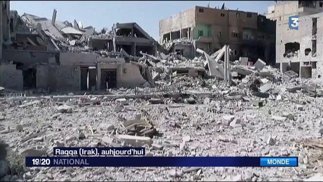 Dans l'enfer de Raqqa en Syrie