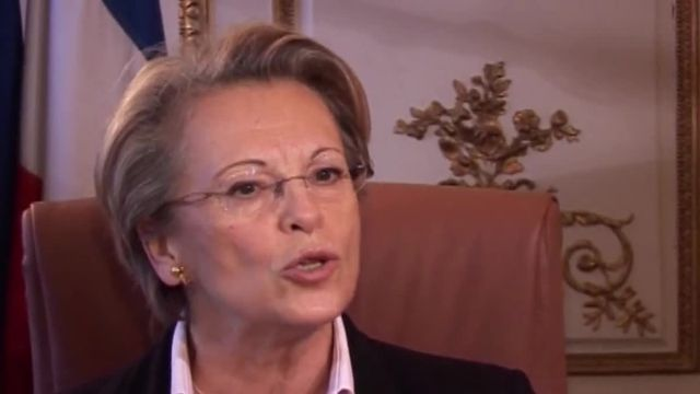 Michèle Alliot-Marie Tarnac