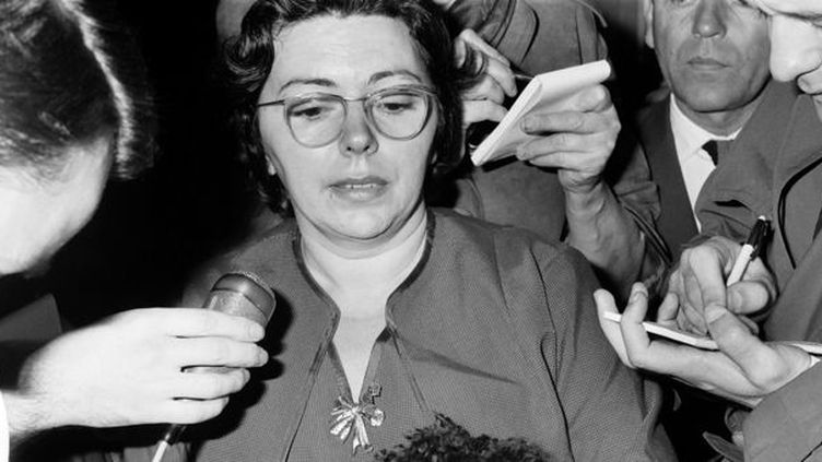 Danielle Bonel, confidente et secrétaire d'Edith Piaf (photo non datée)  (AFP)