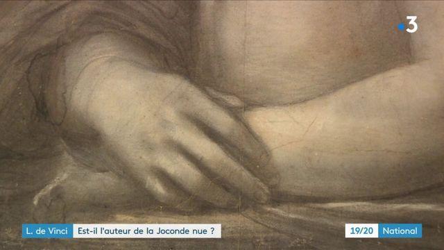 """Léonard de Vinci pourrait être l'auteur de la """"Joconde nue"""" d'après les experts du Louvre"""