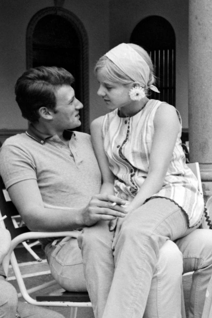 Johnny et Sylvie (© HUGUES VASSAL)