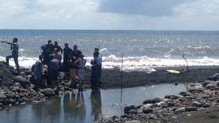 L'attaque du requin s'est produiteà Saint-André, sur la côte est de La Réunion, mardi 21 février 2017. (GÉRALDINE BLANDIN / RÉUNION1ERE)