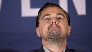 Leonardo DiCaprio à Paris pour The Revenant  (Martin Bureau / AFP)